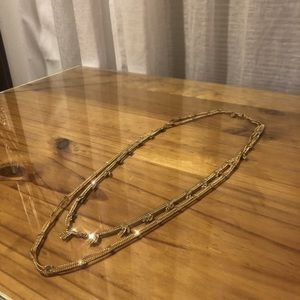 Madewell Long Gold Necklace